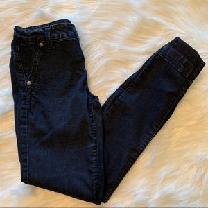 Blue spice dark wash jeans
